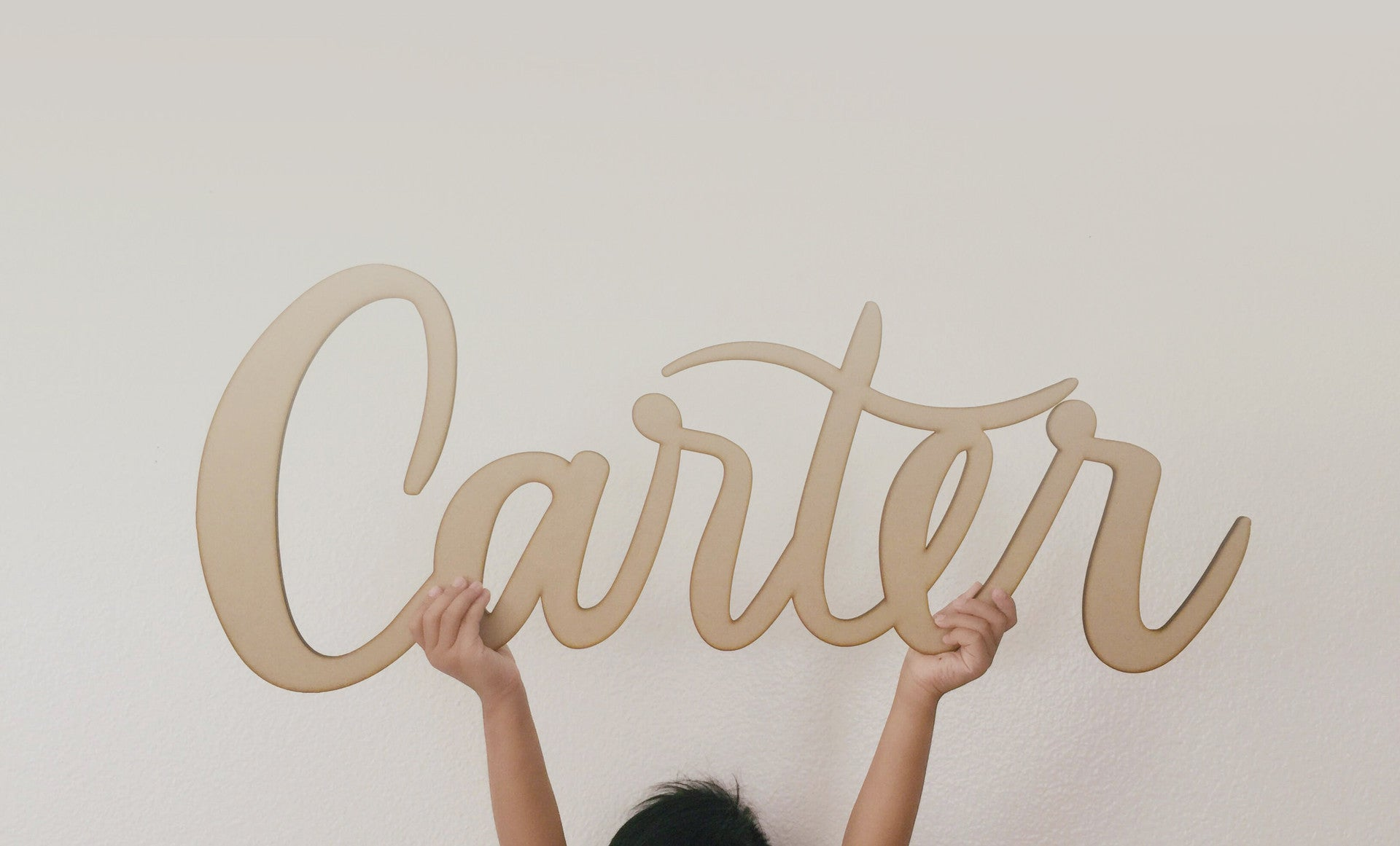 Hand made Ready to Decorate Wooden letters Made from MDF Names,Signs-Cooper