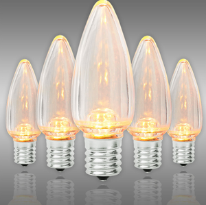 "25 Pack C9 size LED Replacement Bulbs for 24""/36"" stock marquee signs"