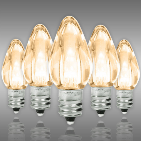 "25 Pack C7 size LED Replacement Bulbs for 12"" stock marquee signs"