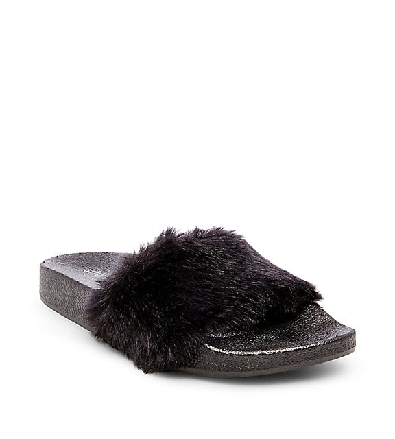 Steve Madden Slippers Softey Black