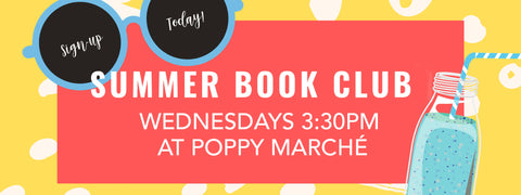 Poppy Marché Summer Book Club in Montecito