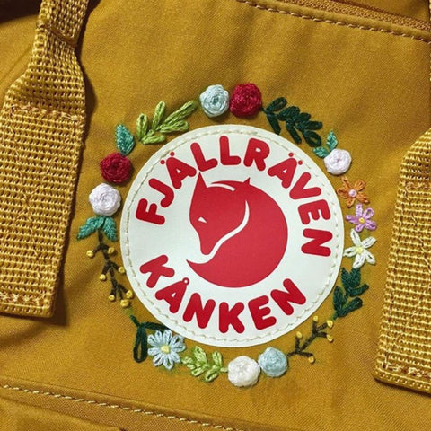 Custom Embroider your Fjallraven Kanken Pack Event