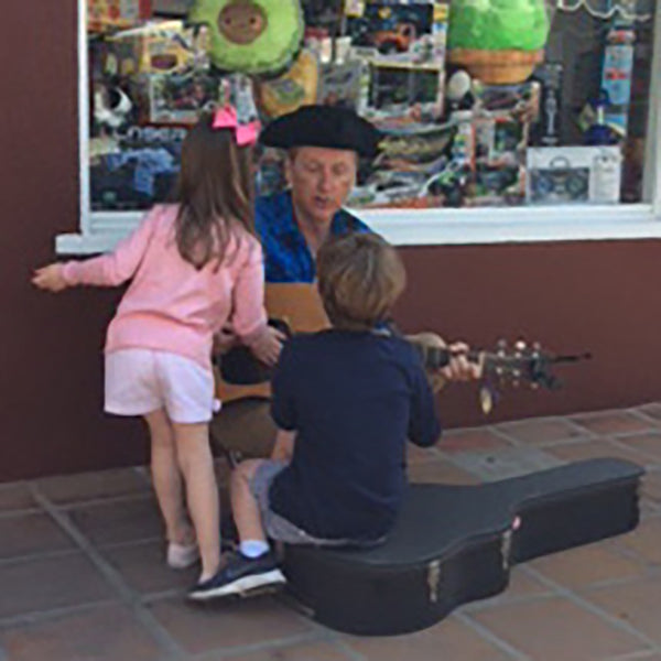 """Denny Sings"" Thursdays in April at Brentwood Poppy Store"