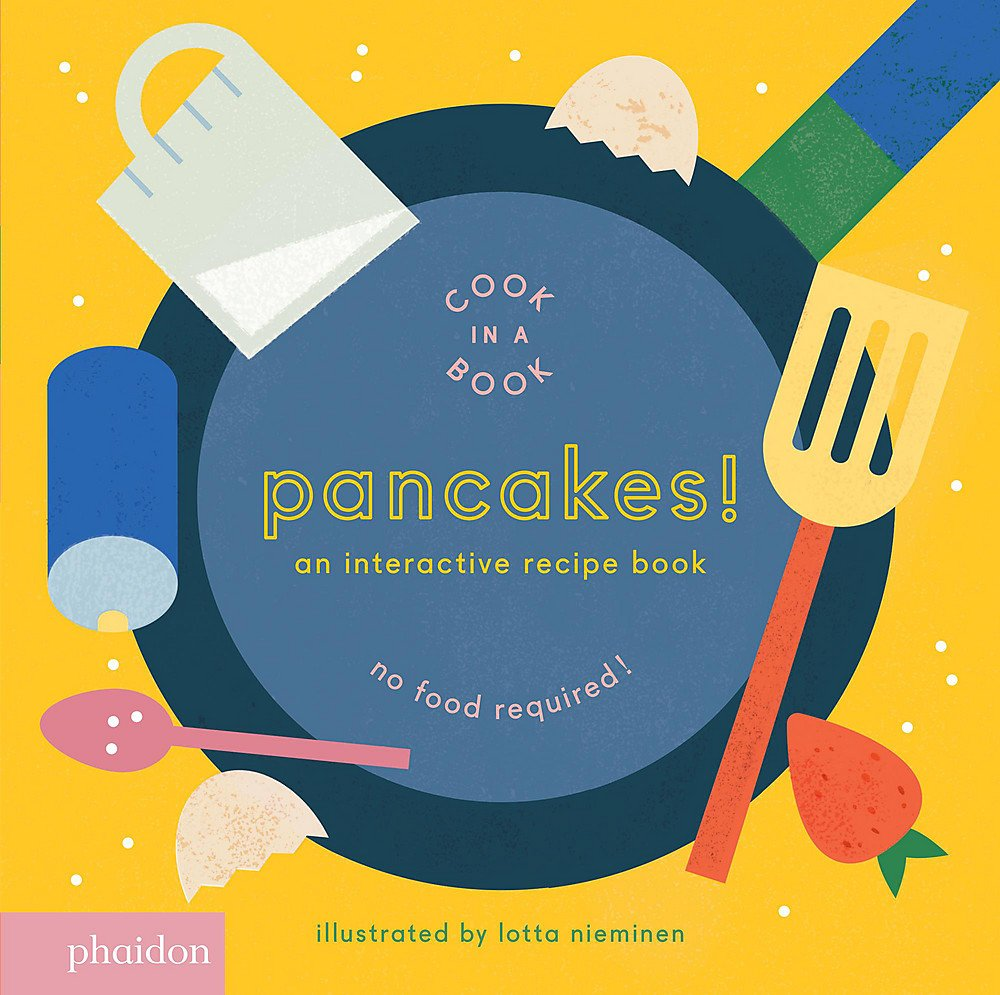 cook in a book pancakes