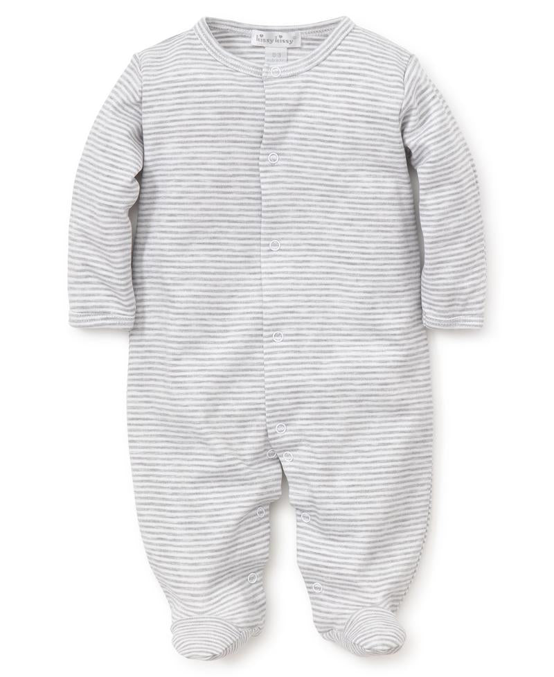 kissy essentials stripe footie