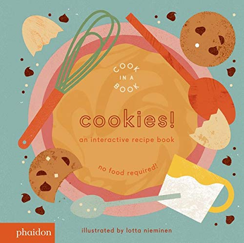 cook in a book cookies