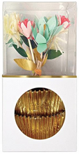 Load image into Gallery viewer, flower bouquet cupcake kit