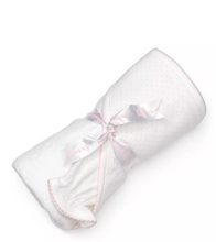 Load image into Gallery viewer, new kissy dots towel w/mitt