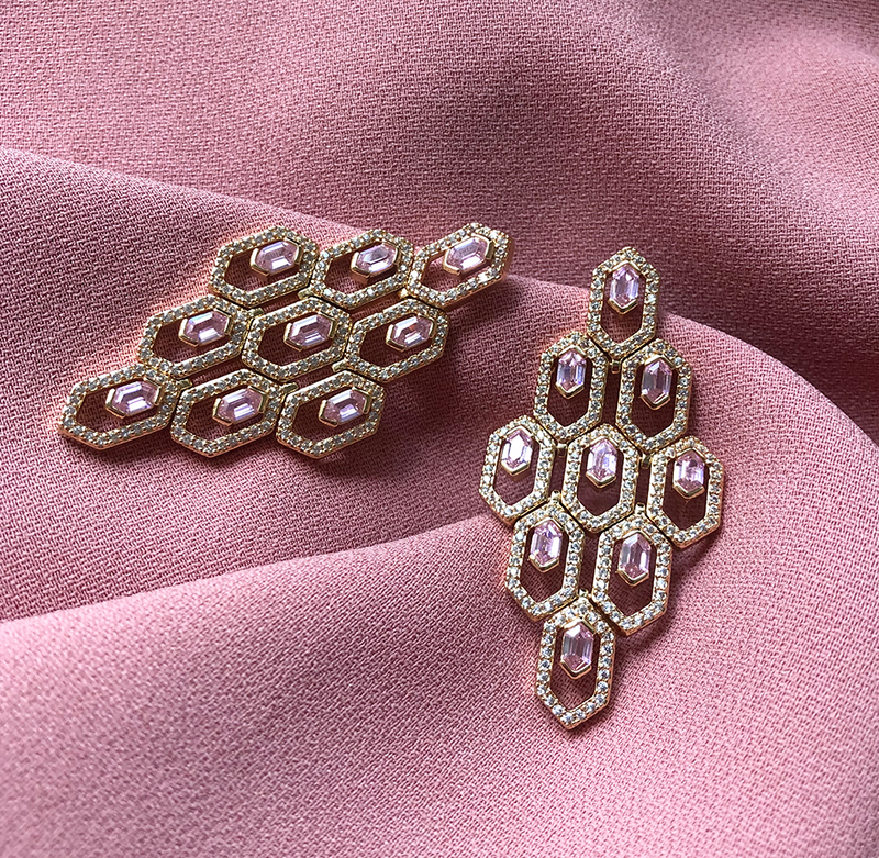 Aya's Favourite Evening Jewellery Piece: Auriela Earrings