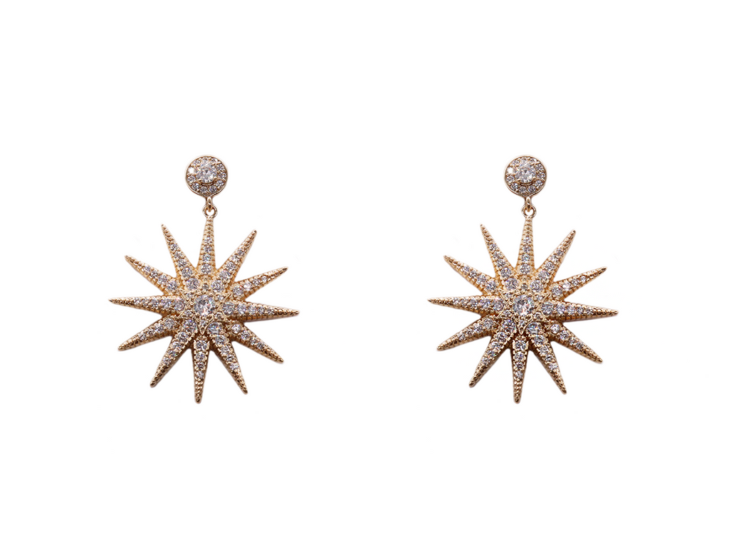 Starburst Earrings - LALOU