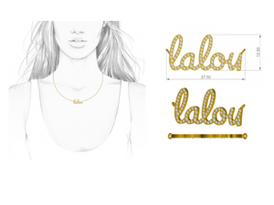 Personalise Your Name - LALOU