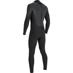 Open image in slideshow, VISSLA 7 SEAS 3/2 BACK ZIP FULL SUIT BLACK SMOOTHY