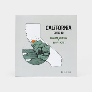 CALIFORNIA GUIDE TO COASTAL CAMPING & SURF SPOTS BOOK