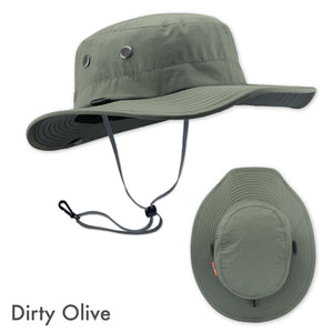 SHELTA SEAHAWK DIRTY OLIVE PERFORMANCE HAT