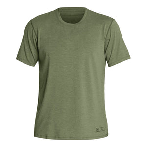 Open image in slideshow, XCEL THREAD X SOLID SHORT SLEEVE UV OLIVE