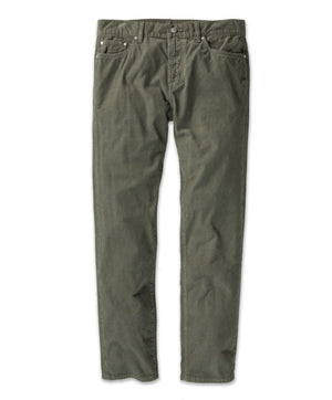 OUTERKNOWN TOWNES 5-POCKET CORD PANT SAFARI