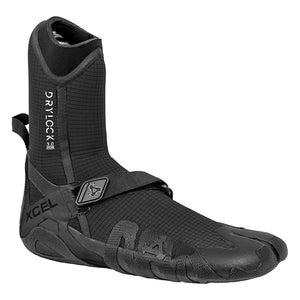 XCEL DRYLOCK SPLITTOE 3MM BLACK