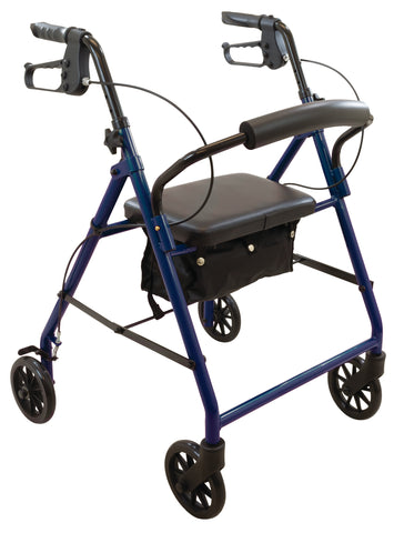 "Steel Rollator, 6"" Wheels"