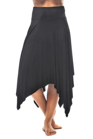 Rapz Asymmetrical Skirt 4430 Black