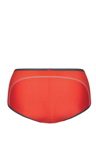 Anita Air Control Boyshort Panty 1627 Red - Back View