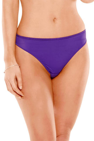 Fit Fully Yours Crystal Thong U2201 Violet