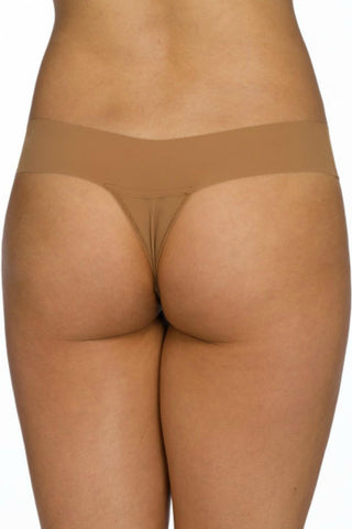 "Hanky Panky Bare ""Eve"" Natural Rise Thong 6J1661"