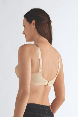 Amoena Non-Wired Pocketed Soft Bra 2124 Pearl Beige