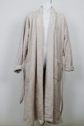 Cyell Cotton Terry Velour Robe TER606 - SAND