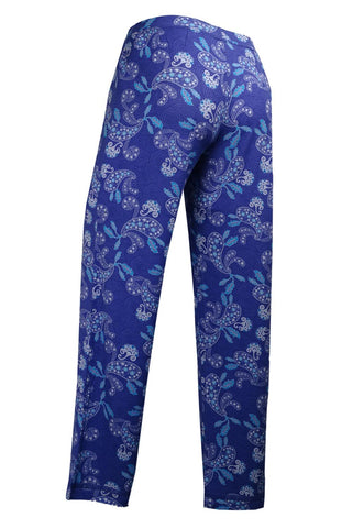 Cool Girl Sleep Pants C518301 Periwinkle Paisley