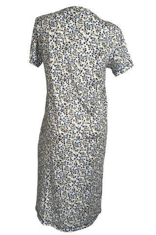 "Karmilla 48"" Short Sleeve Gown 2019531 Ivory Floral"