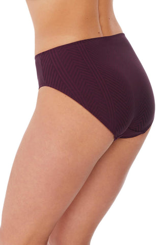 Long Island Mid-Rise Swim Brief FS6906 Vino