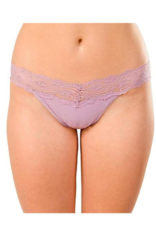 Knockout! Low-Rise Thong 1000 Lilac