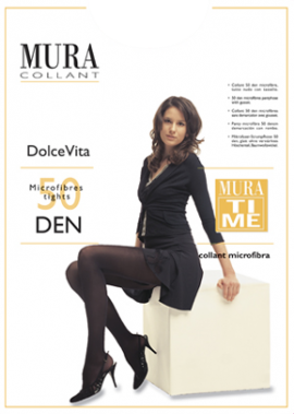 Mura Dolce Vita Sheer Microfiber Tights 460