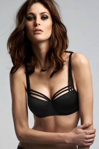 Marlies Dekkers Dame De Paris Balcony T-Shirt Bra 154201 Black