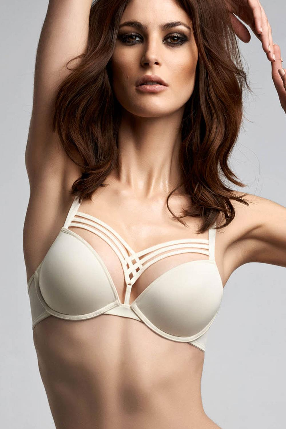 9f2fb2937b3 Marlies Dekkers Dame De Paris Plunge Bra 174711 Ivory - My Top Drawer