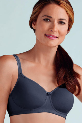 Amoena Mara Wire Free Bra 44023 Dark Grey