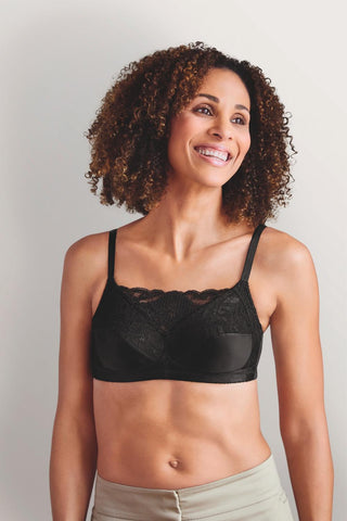 Amoena Isabel Non-Wired Soft Bra 2118 Black
