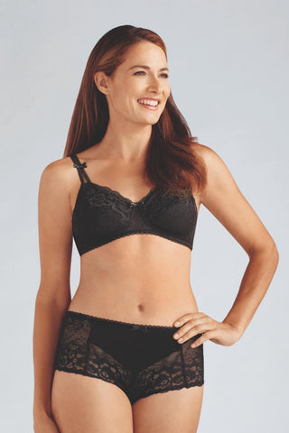 Amoena Karla Non-Wired Bra 43981 Black