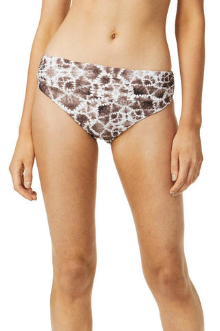 Moontide Shibori Reversible Ruched Bottom Coco 7964SH