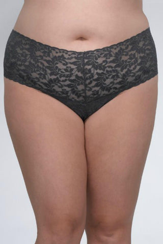 Hanky Panky Retro Lace Thong 9K1926x Granite