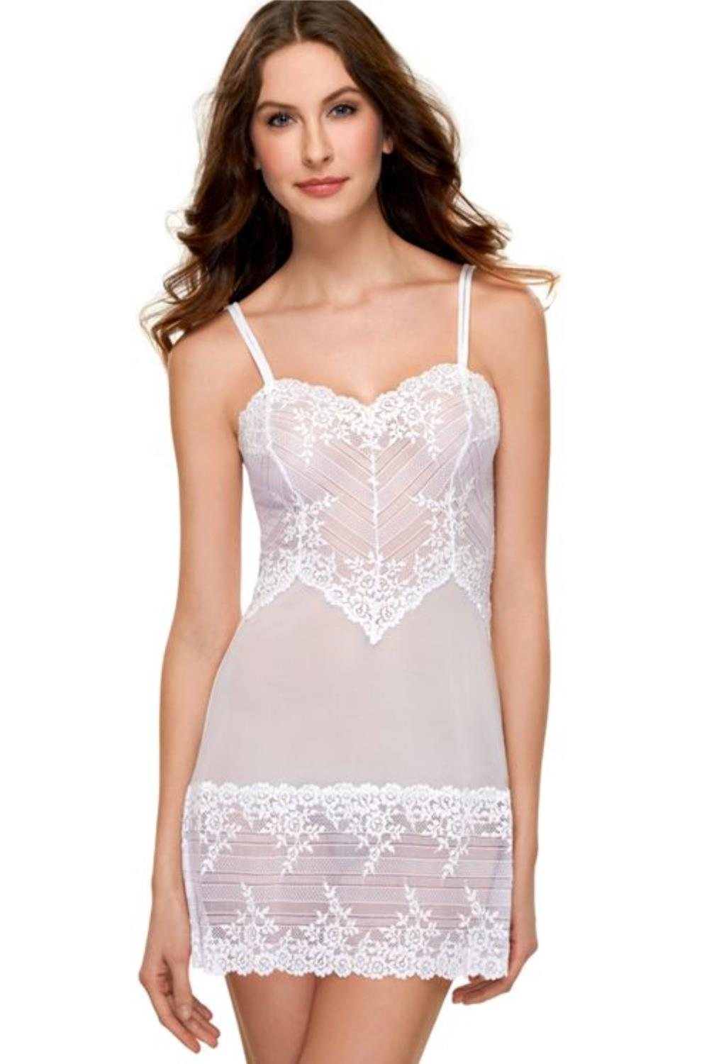2ae3bd9464b03 Wacoal Embrace Lace Chemise 814191 - My Top Drawer