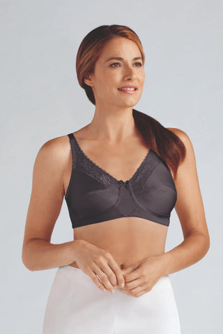 Amoena Nancy Non-Wired Bra Dark Grey 44024