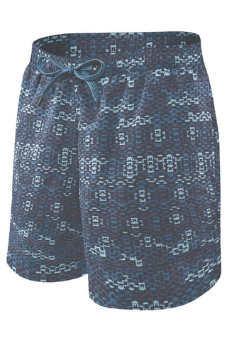SAXX 2N1 Cannonball Swim Shorts SXSS30-WAT Blue Waterfall