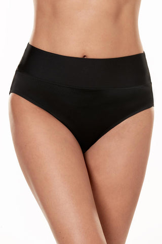 Miraclesuit Fold Over High Waist Bikini Bottom 6517102