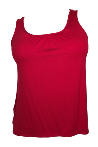 Arianne Lilianne Sleeveless Sleep Top 9122 Raspberry
