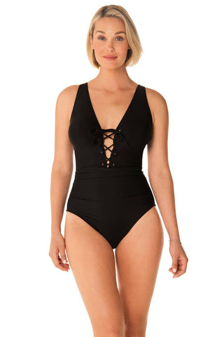 Penbrooke Bring Sexy Back Lace Front One Piece 5529205