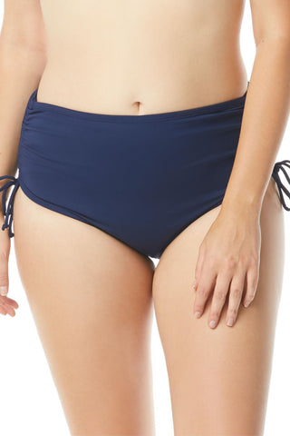 Hayden Plus High Waist Bottom HW58013 Admiral