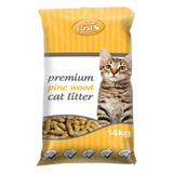 Feline First Premium Pine Wood Cat Litter 4kg