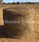 6x4 Round Bale Slow Feeding Hay Net 40mm x 40mm 60 ply