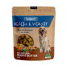Tidbits Health & Vitality Peanut Butter Dog Biscuits 350g